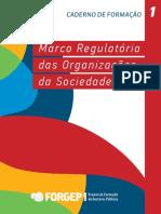 Caderno 1 Marco Regulatório Da Sociedade Civil Forgep