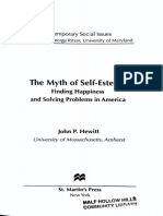 The Myth of Self Esteem - Hewitt