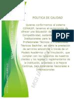 3.- Politica de Calidad