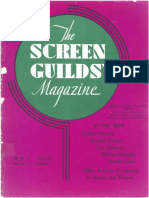 The Screen Guilds' Magazine V3 NO3 May 1936