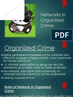 Networks in Organized Crime