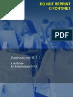 FortiAnalyzer Lab Guide Online