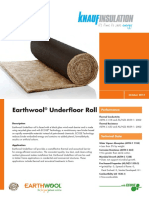Earthwool® Underfloor Roll