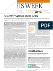 A Slow Road for Stem Cells