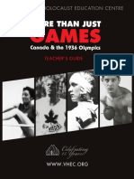 1936 Olympics Teacher's Guide