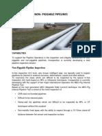 Innospection Non Piggable Pipeline