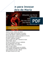 Oración para invocar el nombre de María.doc
