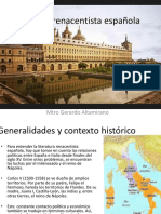 Poesia Renacentista Española