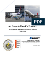 2017 DBEDT Report on Air Cargo in Hawaii