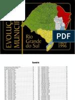 ALRS - Evolução Municipal