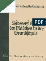 Leibeserziehung der Mädchen in der Grundschule - Bausteine für die Deutsche Erziehung Heft 14