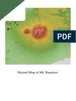 Hazard Map of Mt Banahaw