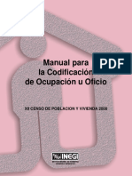 Manual de Codificación de Oficio