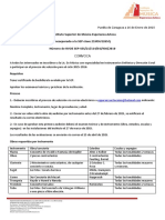 Convocatoria Licenciatura 2015