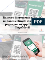 Juan Carlos Escotet - Banesco Incrementa a Bs. 50 Millones El Límite Diario Para Pagos Por Su App Banesco PagoMóvil