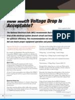 Voltage Drop