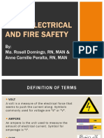 Basic Electrical and Fire Safety