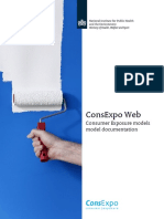 ConsExpo Web Consumer Exposure Models - Model Documentation