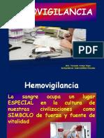 HEMOVIGILANCIA  TUTORIA