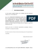 Certificado de Trabajo_oficinas Huampani