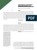 Ação Afirmativa, Autoritarismo e Liberalsimo Brasil 1968