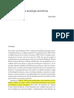 [Neil J. Smelser, Richard Swedberg] the Handbook Economic Sociology