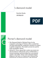 Porter's diamond model Case Study1