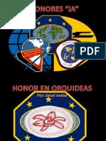 Honor en Orquideas