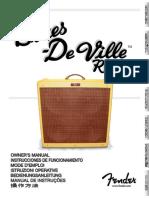 Blues DeVille Reissue Manual
