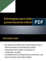 Elementos Para Elaborar Presentaciones