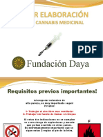 PPT Preparación de Productos a Base Cannabis