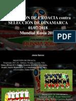 Jesús Sarcos - Selección de Croacia Contra Selección de Dinamarca, 01-07-2018, Mundial Rusia 2018