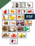 Fruta y Comida