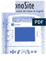 Manual para el usuario del sistema de ecografía Son Site