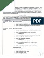 Convocatoria Proceso de Admisión 2018 2019