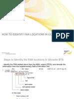 Fan Location in Nokia Bts