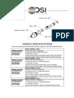 Nozzle Data Sheet - 2015