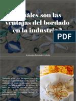 Atahualpa Fernández Arbulu - ¿Cuáles Son Las Ventajas Del Bordado en La Industria?