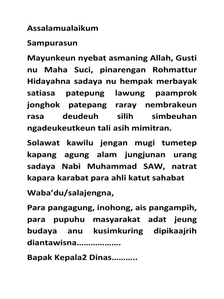 Teks Pidato