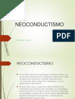 Neoconductismo de Tolman