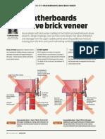 Build 160 38 Design Right Weatherboards Above Brick Veneer