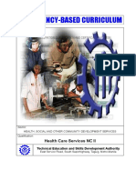 CBC-Health Care Services NC II