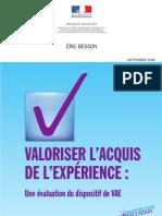 Evaluation Du VAE