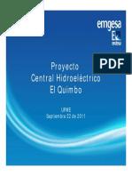 Anexo 1B Presentacion EMGESA Proyecto Hidroelectrico El Quimbo