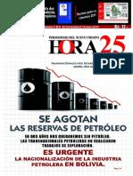 Transnacionales nos dejaron sin reservas de gas