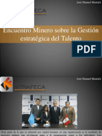 José Manuel Mustafá - Encuentro Minero Sobre La Gestión Estratégica Del Talento