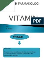 Ppt Farma Vitamin