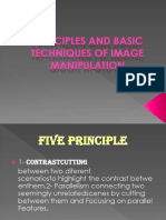 Principles and Basic Techniques of Image Manipulation Grade 11 St. Lorenzo