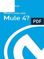 What is New in Mule 4