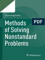 Methods of Solving Nonstandard Problems, Grigorieva, 2015